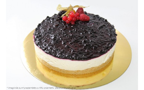 TORT QUARK CAKE - cu branza de vaci si afine